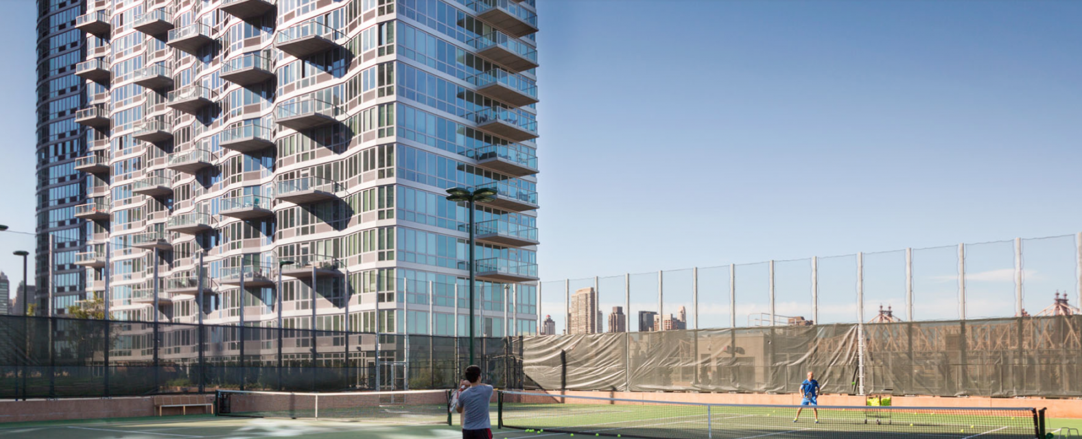 Tennis Court - 45-45 Center Boulevard - Long Island City