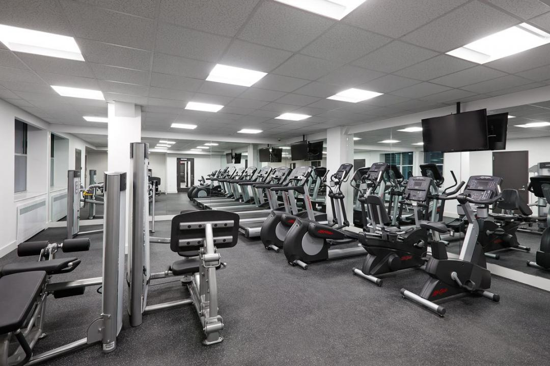 Gym at Sienna37 in NYC - Apartments for rent