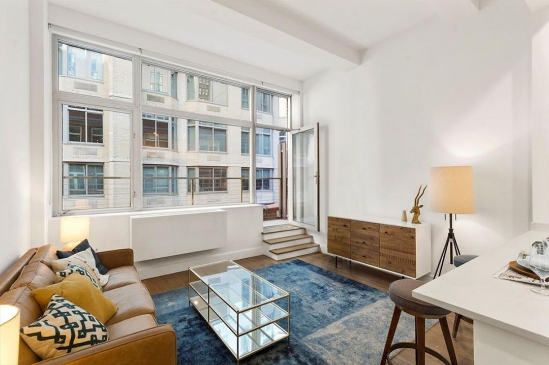 Living Room at Sienna37 in NYC - Apartments for rent