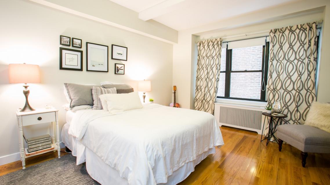 Bedroom at Stonehenge 57 - NYC Rental Apartments