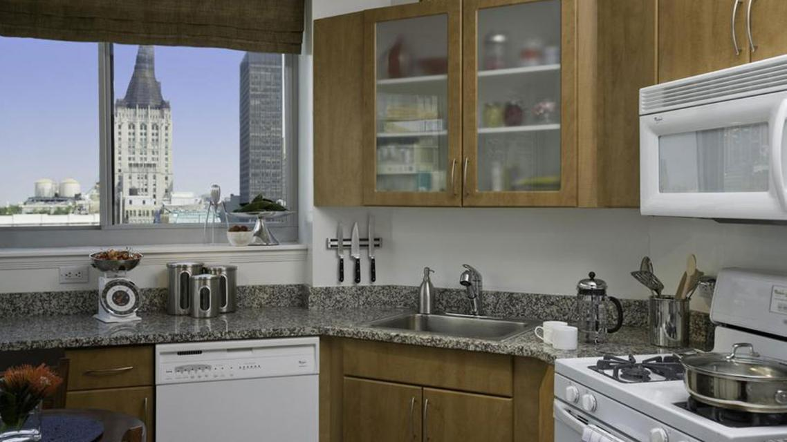 The Capitol at Chelsea rental building Kitchen - NYC Flats