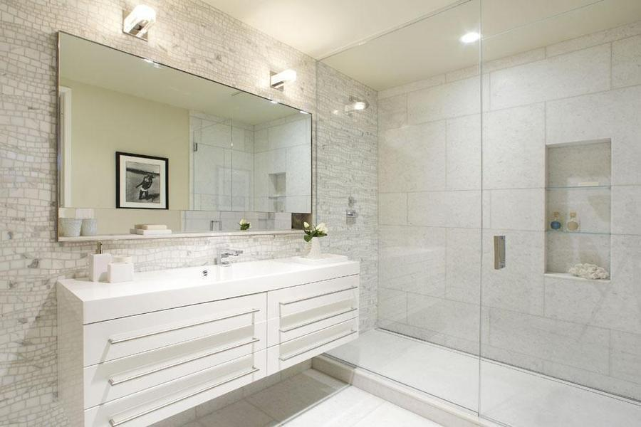 Bathroom- 124 West 23rd Street- NYC condo for rent