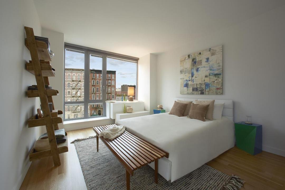 The Ludlow apartments Bedroom