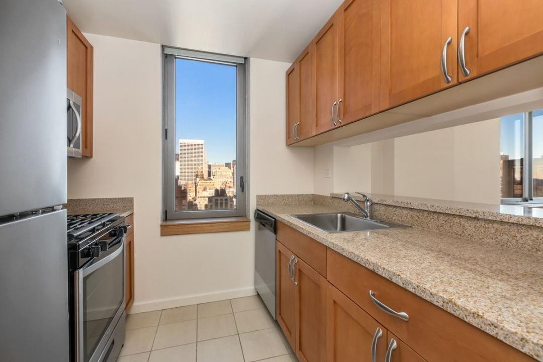 The Magellan rental building Kitchen - NYC Flats
