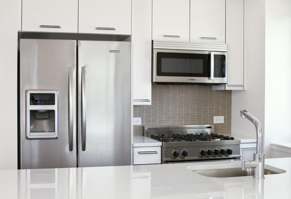 The Melar rental building Kitchen - NYC Flats