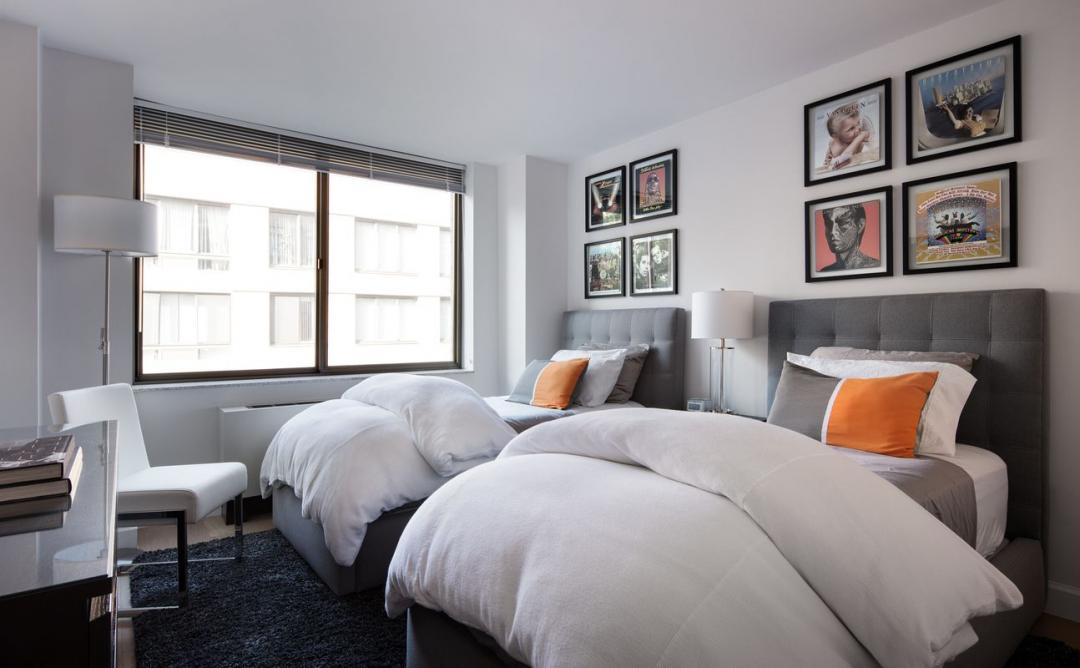 Rental Apartments at 130 West 15th Street Bedroom