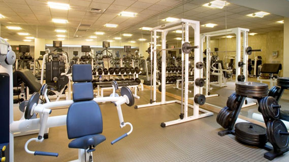 The Tate rental building Fitness Center - NYC Flats
