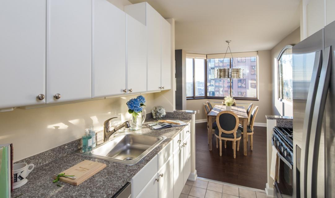The Vanguard Chelsea Kitchen - Manhattan Apartments for rent
