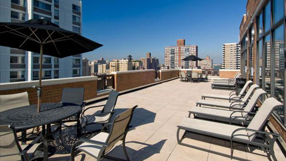 The Westmont Apartments rental building Sundeck - NYC Flats