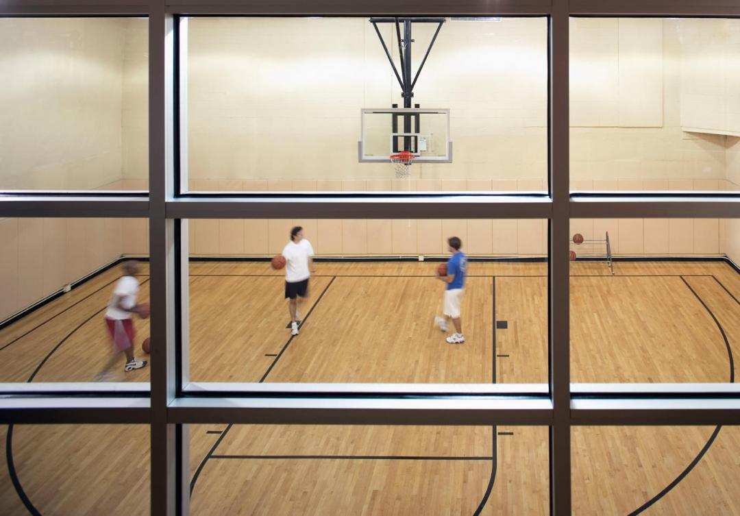 The Westport Basketball Court - 500 West 56th Street apartments for rent