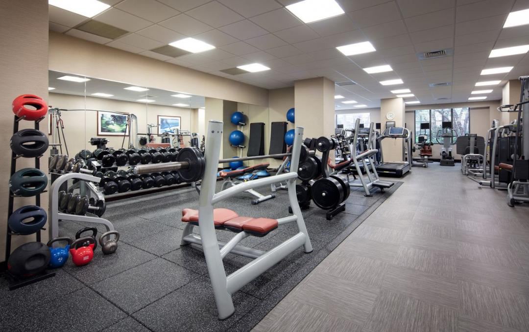 500 West 56th Street Fitness Center - Manhattan Rental Apartments