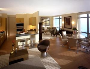 The Cielo Living Room – Upper East Side NYC Condominiums
