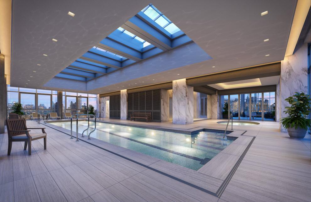 Swimming Pool at The Encore in NYC