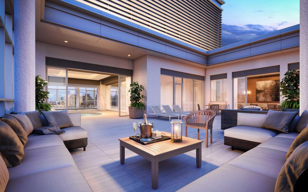 Apartments for rent at The Encore in Lincoln Square - Rooftop Deck