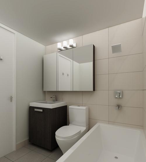The Grayson Bathroom, NYC Luxury Rentals