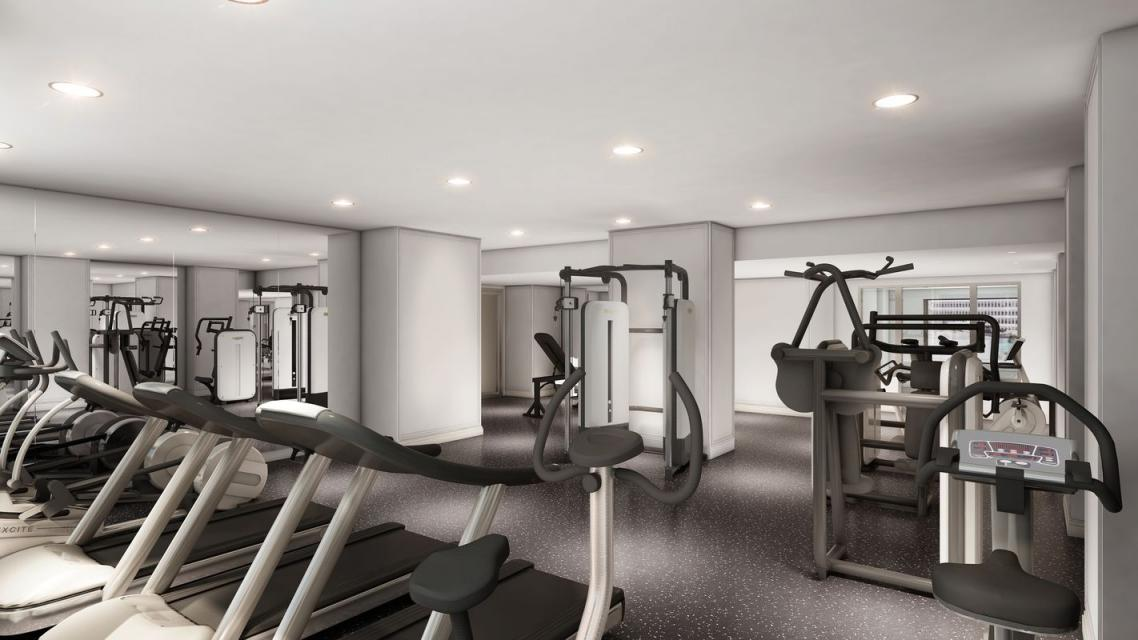 Fitness Center at The Lanthian in Murray Hill - Apartments for rent