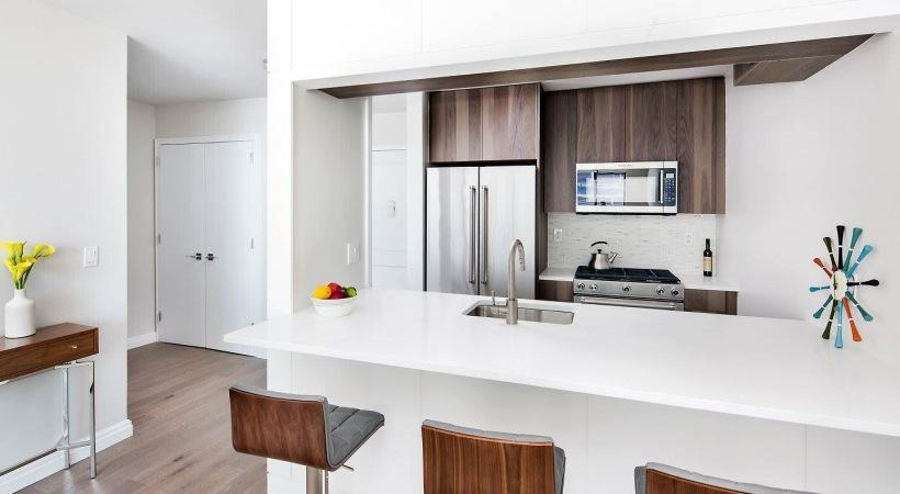 Kitchen at The Lanthian in Murray Hill - Apartments for sale
