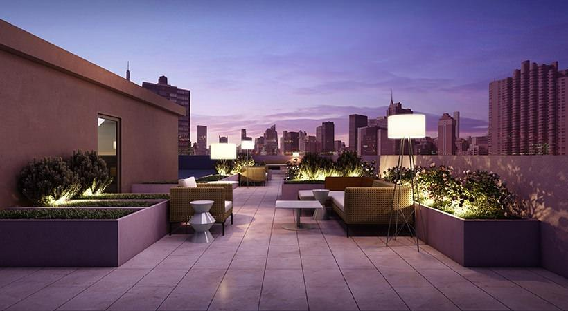 Apartments for rent at 377 East 33rd Street in NYC - Rooftop Terrace