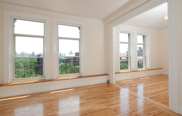 The Orleans- Living Room and View- Condos for sale in Upper West Side