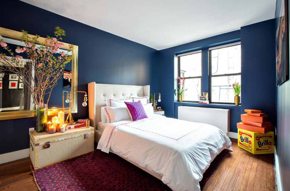 Bedroom at 245 West 25th Street in Chelsea - Apartments for rent