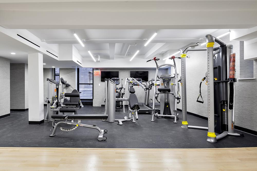 Fitness Center at The Arthur in Chelsea - Apartments for rent