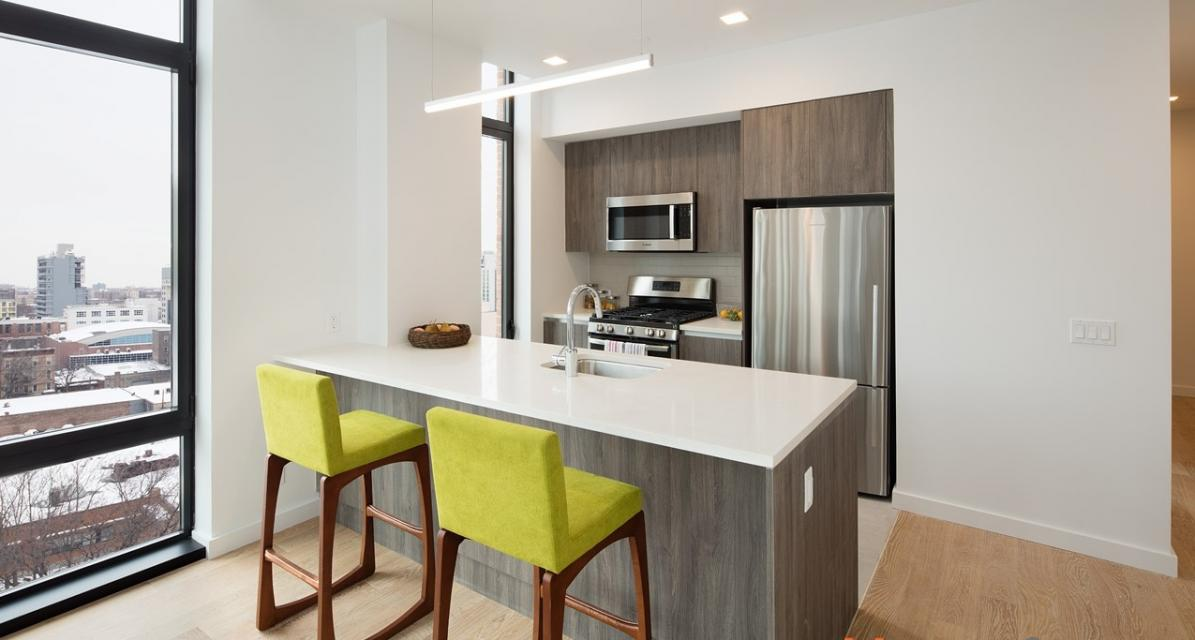 Open Kitchen at The Baker House in Long Island City - Apartments for rent