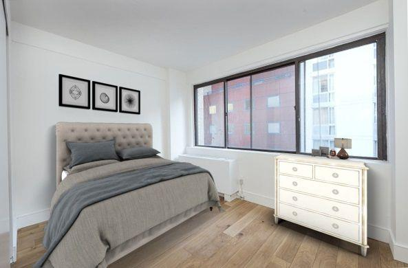 Bedroom at 230 East 44th Street in Manhattan - Apartments for rent