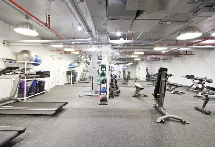 Fitness Center at 230 East 44th Street in Turtle Bay
