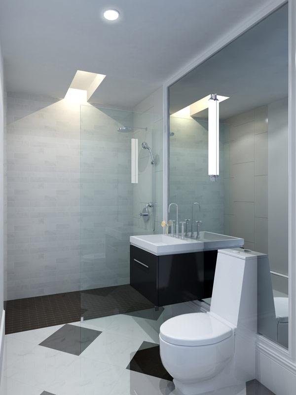 Condos for rent at 205 North 9th Street in NYC - Bathroom