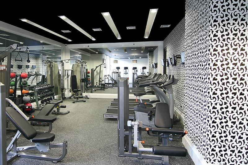 Wide variety of amenities at 205 North 9th Street in NYC - Fitness Center