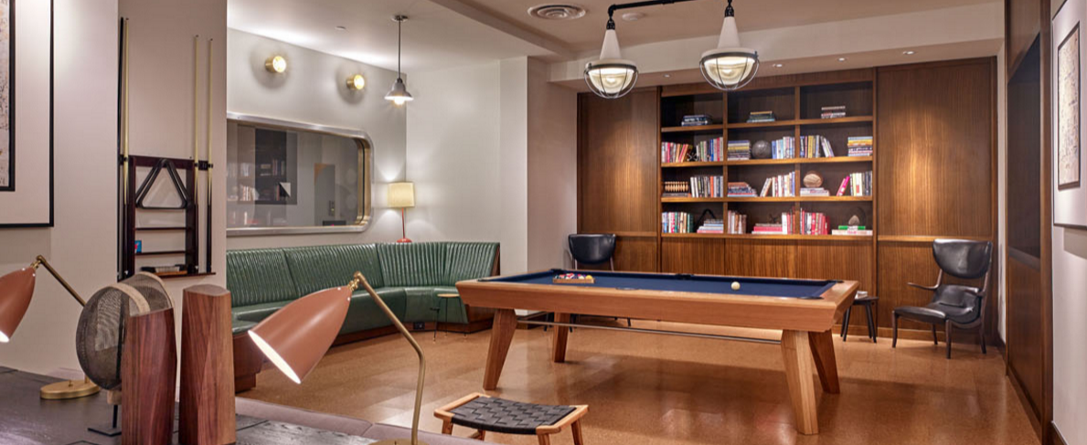 Billiards Room at  435 West 31st Street in Midtown West