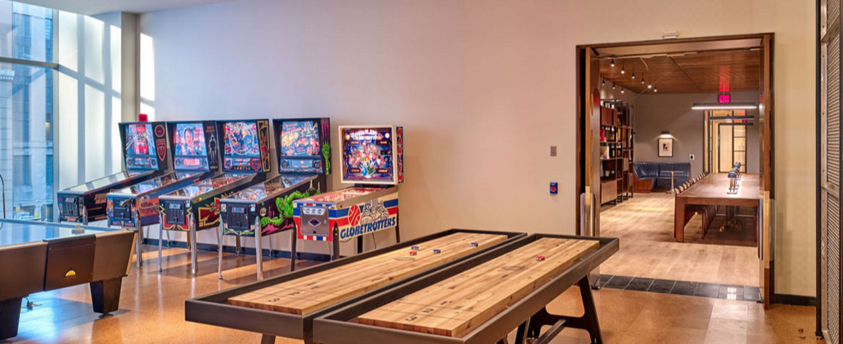 Apartments for rent at The Eugene in NYC - Game Room