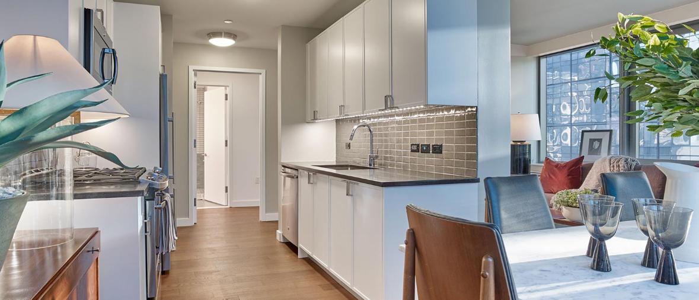 Open Kitchen at 435 West 31st Street in Manhattan