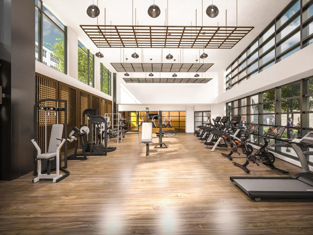 Fitness Center at The Forge in Long Island City - Apartments for rent
