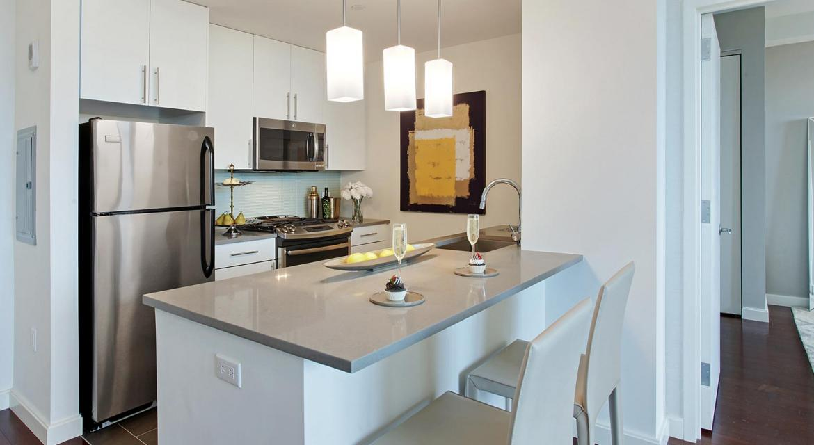 Condos for rent at The Giovanni in Brooklyn Heights - Kitchen