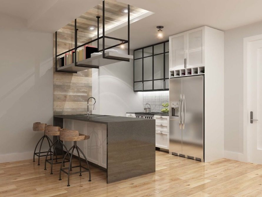 Open Kitchen at 44-41 Purves Street in NYC - Apartments for rent