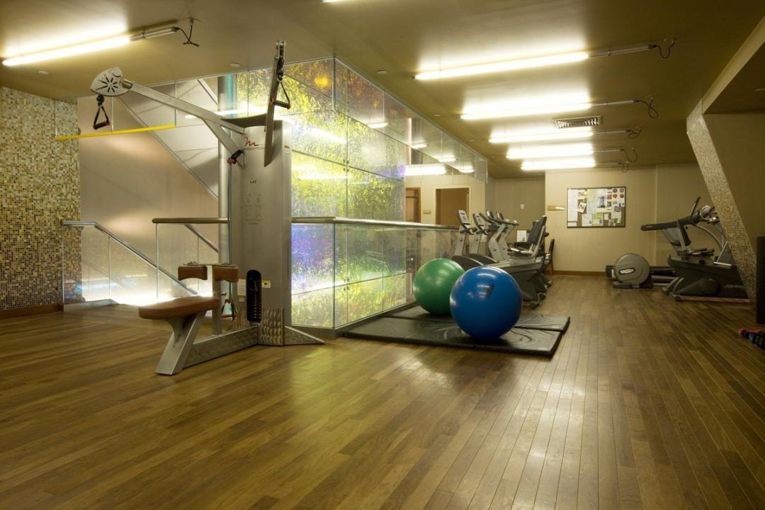 Fitness Center inside the building at 601 West 57th Street