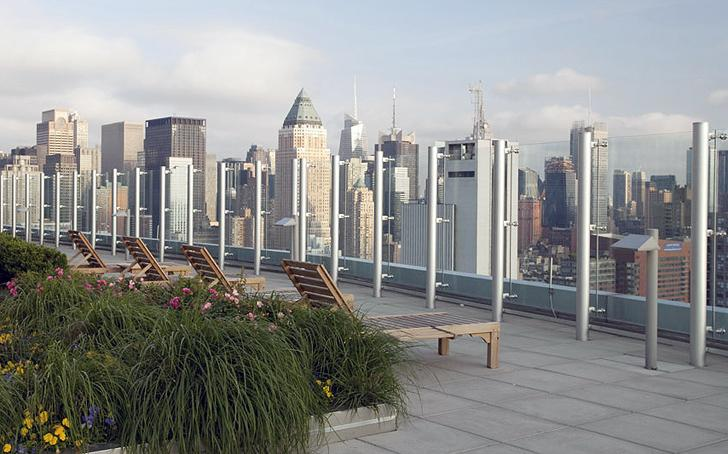 Rooftop Deck at The Helena in Midtown West - Condos for rent