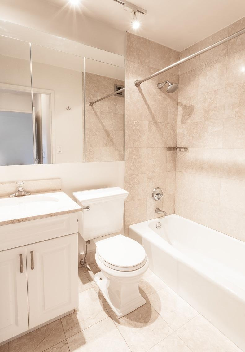 Bathroom at 182 East 95th Street in Upper East Side - Apartments for rent