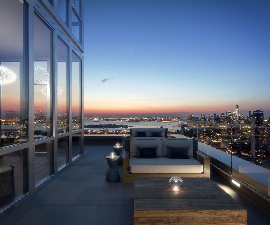 Apartments for rent at The Hub in Downtown Brooklyn - Sky Lounge