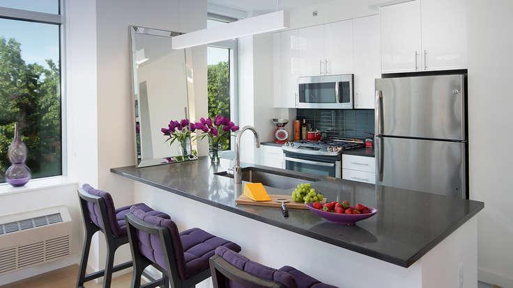 Open Kitchen at The Margo in NYC - Apartments for rent