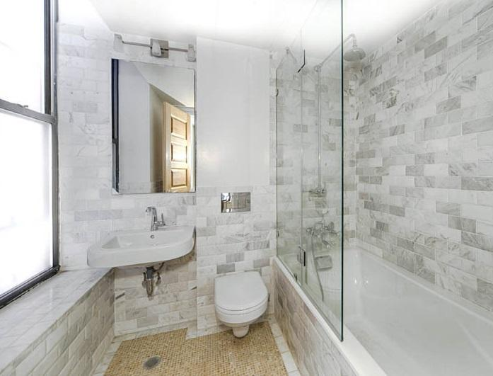 Bathroom at 154 West 70th Street in Manhattan