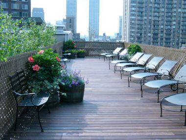Condos for rent at 154 West 70th Street in NYC - Rooftop Deck