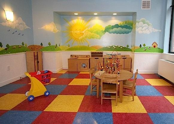 Children's Playroom at The Somerset in Manhattan