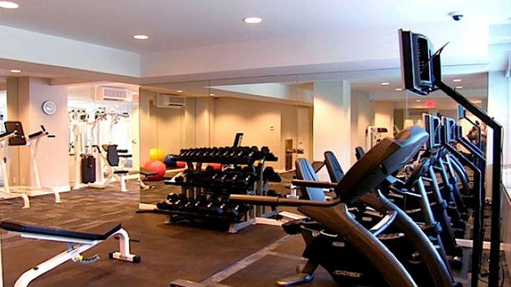 Fitness Center at 1365 York Avenue in NYC