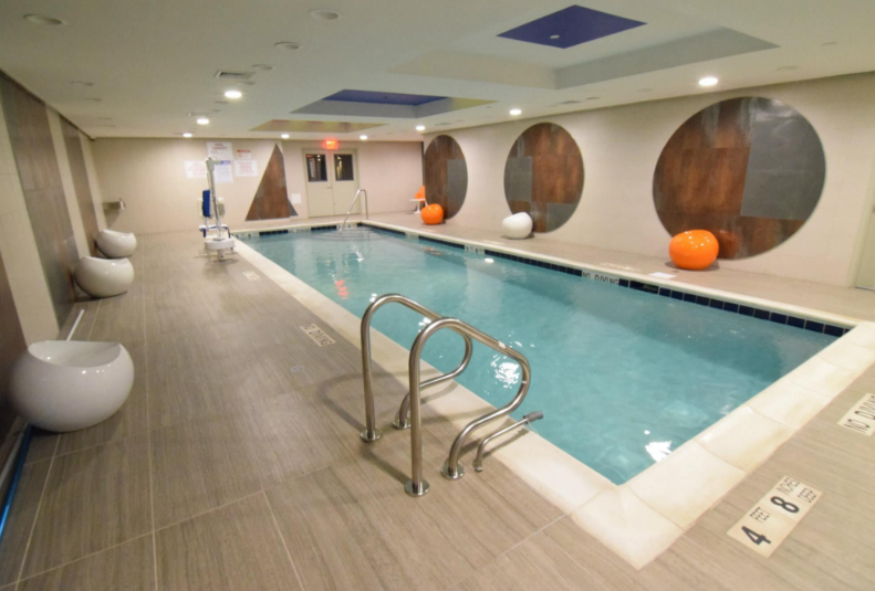 Pool at The Wave in NYC - Apartments for rent