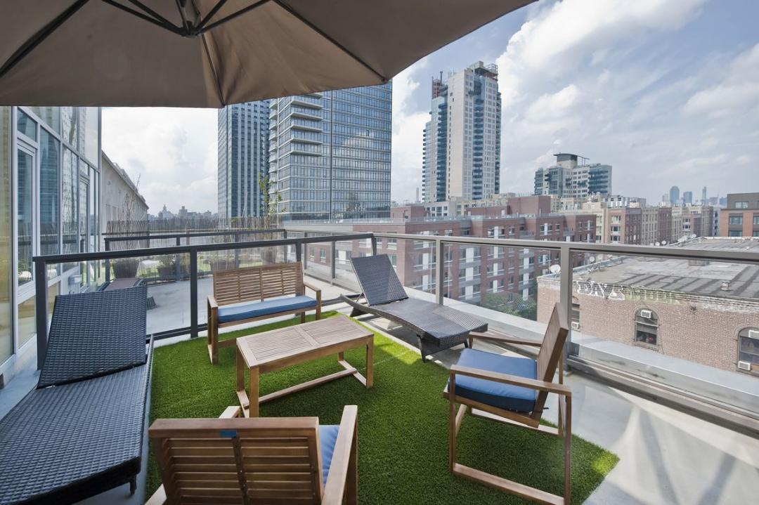 Rentals at The Wave in Williamsburg - Private Terrace