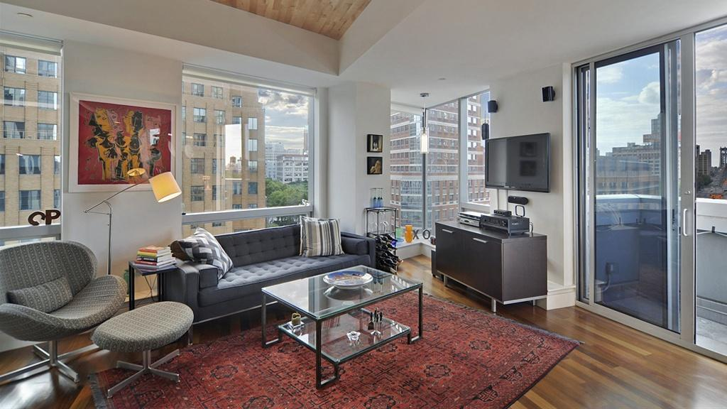 Downtown Brooklyn Living Room Condominium