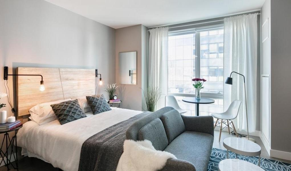 Rentals at 42-12 28th Street in Long Island City - Bedroom