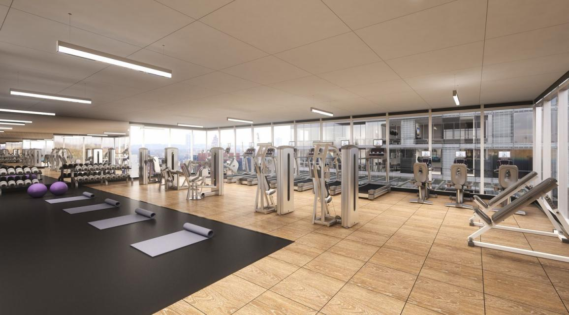 Rentals at 42-12 28th Street in Long Island City - Fitness Center